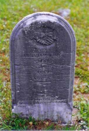 HANES, ABRAHAM - Meigs County, Ohio | ABRAHAM HANES - Ohio Gravestone Photos