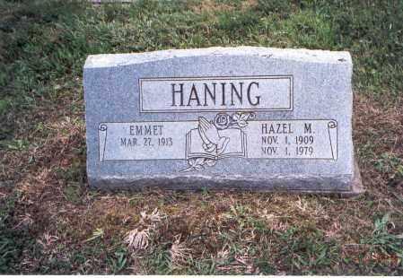 HANING, EMMET - Meigs County, Ohio | EMMET HANING - Ohio Gravestone Photos
