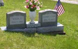 HANING, HARRY GLEN - Meigs County, Ohio | HARRY GLEN HANING - Ohio Gravestone Photos