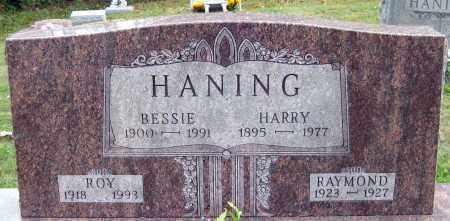 HANING, BESSIE - Meigs County, Ohio | BESSIE HANING - Ohio Gravestone Photos