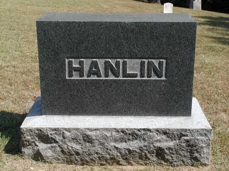 HANLIN, HEADSTONE - Meigs County, Ohio | HEADSTONE HANLIN - Ohio Gravestone Photos