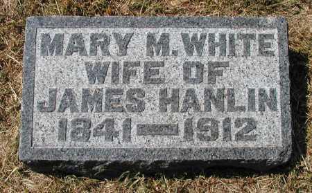 WHITE HANLIN, MARY M. - Meigs County, Ohio   MARY M. WHITE HANLIN - Ohio Gravestone Photos