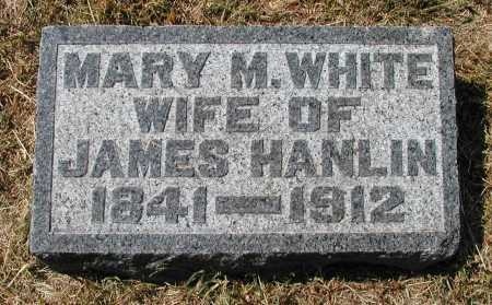 HANLIN, MARY M. - Meigs County, Ohio | MARY M. HANLIN - Ohio Gravestone Photos