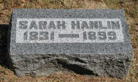 HANLIN, SARAH - Meigs County, Ohio | SARAH HANLIN - Ohio Gravestone Photos