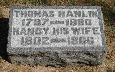 HANLIN, THOMAS - Meigs County, Ohio   THOMAS HANLIN - Ohio Gravestone Photos