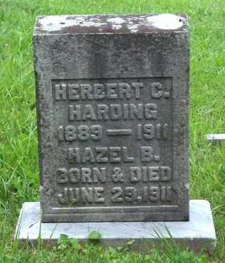 HARDING, HAZEL B. - Meigs County, Ohio   HAZEL B. HARDING - Ohio Gravestone Photos