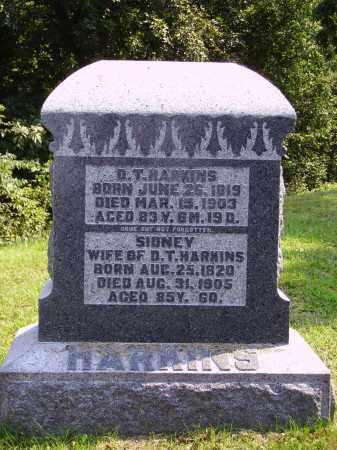HARKINS, D. [DAIVD] T. - Meigs County, Ohio   D. [DAIVD] T. HARKINS - Ohio Gravestone Photos