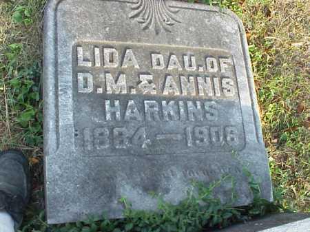 HARKINS, LIDA - Meigs County, Ohio   LIDA HARKINS - Ohio Gravestone Photos