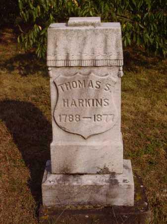 HARKINS, THOMAS S. - Meigs County, Ohio   THOMAS S. HARKINS - Ohio Gravestone Photos