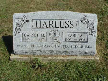 HARLESS, GARNET M. - Meigs County, Ohio | GARNET M. HARLESS - Ohio Gravestone Photos