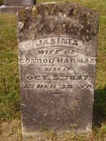 HARMAN, JASINIA - Meigs County, Ohio | JASINIA HARMAN - Ohio Gravestone Photos