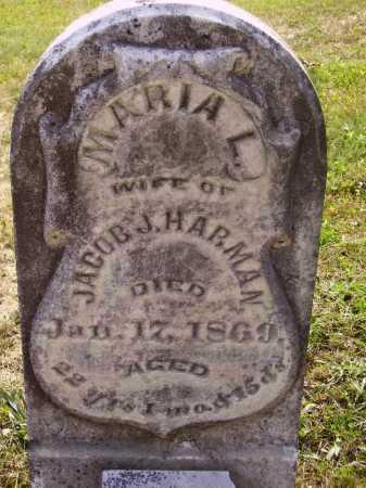 HARMAN, MARIA L. - Meigs County, Ohio | MARIA L. HARMAN - Ohio Gravestone Photos