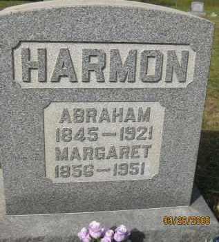 HARMON, ABRAHAM - Meigs County, Ohio | ABRAHAM HARMON - Ohio Gravestone Photos