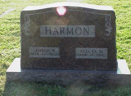 HARMON, GEORGE W. - Meigs County, Ohio | GEORGE W. HARMON - Ohio Gravestone Photos