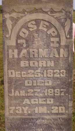 HARMAN, JOSEPH - CLOSEVIEW - Meigs County, Ohio   JOSEPH - CLOSEVIEW HARMAN - Ohio Gravestone Photos