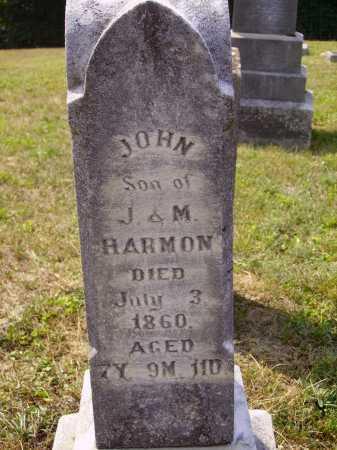 HARMON, JOHN - Meigs County, Ohio | JOHN HARMON - Ohio Gravestone Photos
