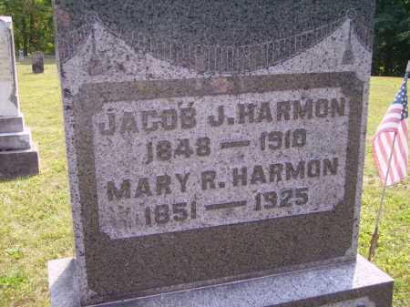 HARMON, JACOB - Meigs County, Ohio | JACOB HARMON - Ohio Gravestone Photos