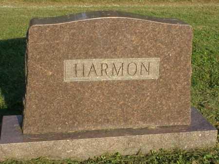 HARMON, MONUMENT - BACK - Meigs County, Ohio | MONUMENT - BACK HARMON - Ohio Gravestone Photos