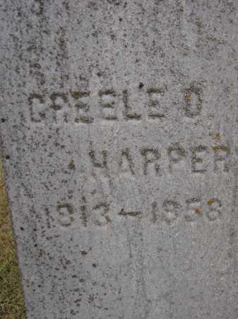 HARPER, GREELE D. - Meigs County, Ohio | GREELE D. HARPER - Ohio Gravestone Photos