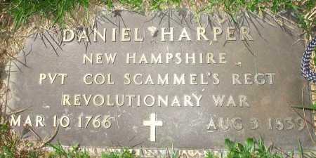 HARPER, DANIEL - Meigs County, Ohio | DANIEL HARPER - Ohio Gravestone Photos
