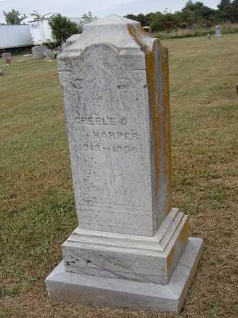 HARPER, GREELE D. - OVERALL VIEW - Meigs County, Ohio | GREELE D. - OVERALL VIEW HARPER - Ohio Gravestone Photos
