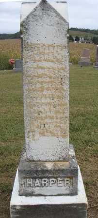 HARPER, MARGARET - VIEW 2 - Meigs County, Ohio   MARGARET - VIEW 2 HARPER - Ohio Gravestone Photos