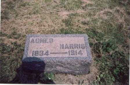 HARRIS, AGNES - Meigs County, Ohio | AGNES HARRIS - Ohio Gravestone Photos