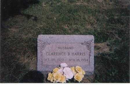 HARRIS, CLARENCE B. - Meigs County, Ohio | CLARENCE B. HARRIS - Ohio Gravestone Photos
