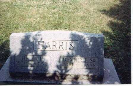 HARRIS, DEXTER B.  SR. - Meigs County, Ohio   DEXTER B.  SR. HARRIS - Ohio Gravestone Photos