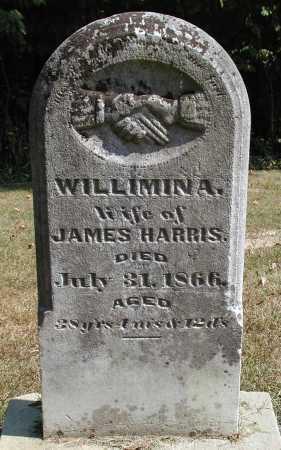 HARRIS, WILLIMINA - Meigs County, Ohio | WILLIMINA HARRIS - Ohio Gravestone Photos