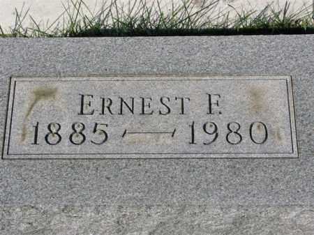 HARRISON, ERNEST F. - Meigs County, Ohio | ERNEST F. HARRISON - Ohio Gravestone Photos
