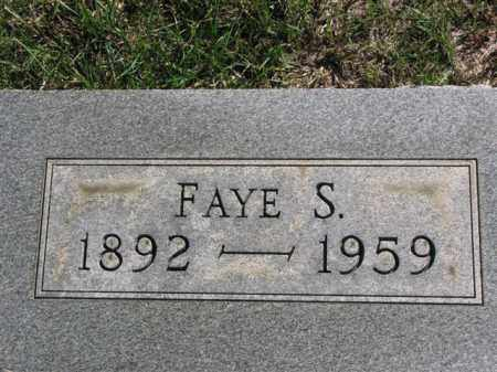HARRISON, FAYE S. - Meigs County, Ohio | FAYE S. HARRISON - Ohio Gravestone Photos