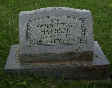 """HARRISON, LAWRENCE """"TOADY"""" - Meigs County, Ohio 