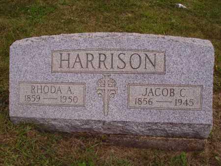 RUPE HARRISON, RHODA ADALINE - Meigs County, Ohio | RHODA ADALINE RUPE HARRISON - Ohio Gravestone Photos