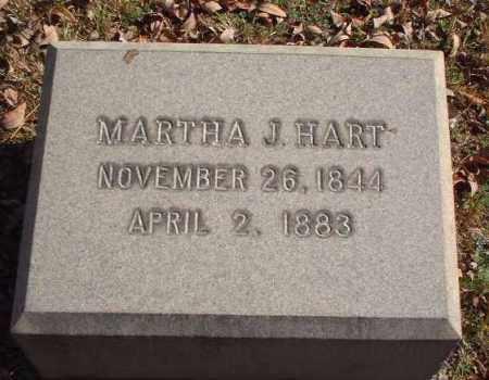 HART, MARTHA J. - Meigs County, Ohio | MARTHA J. HART - Ohio Gravestone Photos