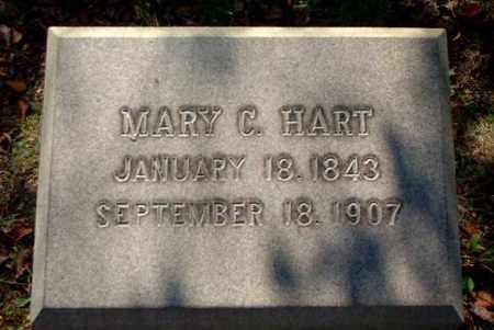HART, MARY C. - Meigs County, Ohio | MARY C. HART - Ohio Gravestone Photos