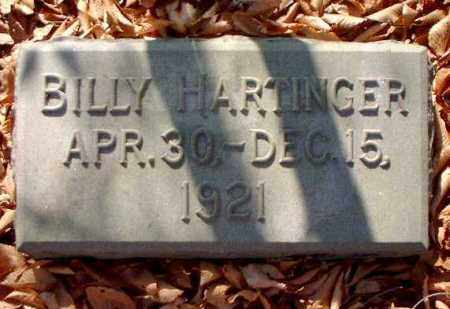 HARTINGER, BILLY - Meigs County, Ohio | BILLY HARTINGER - Ohio Gravestone Photos