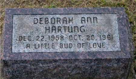 HARTUNG, DEBORAH ANN - Meigs County, Ohio | DEBORAH ANN HARTUNG - Ohio Gravestone Photos