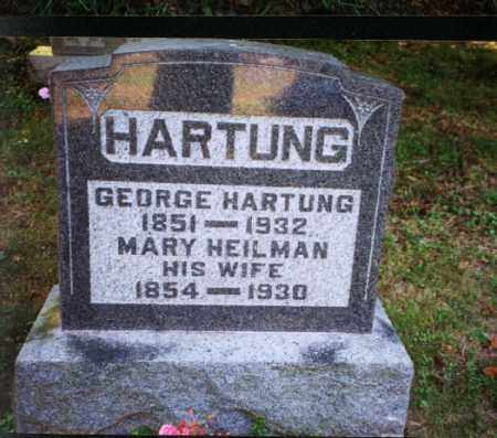 HARTUNG, GEORGE - Meigs County, Ohio | GEORGE HARTUNG - Ohio Gravestone Photos