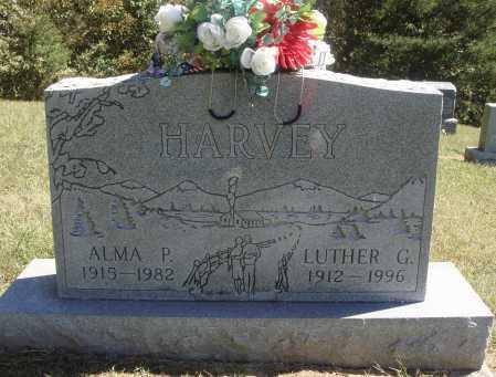 HARVEY, LUTHER G. - Meigs County, Ohio | LUTHER G. HARVEY - Ohio Gravestone Photos