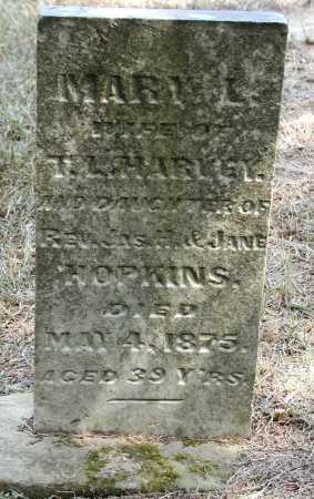 HOPKINS HARVEY, MARY L. - Meigs County, Ohio | MARY L. HOPKINS HARVEY - Ohio Gravestone Photos