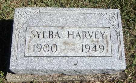 HARVEY, SYLBA - Meigs County, Ohio | SYLBA HARVEY - Ohio Gravestone Photos