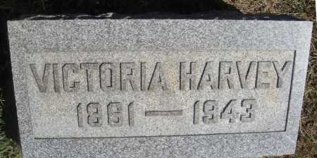 WEBB HARVEY, VICTORIA - Meigs County, Ohio | VICTORIA WEBB HARVEY - Ohio Gravestone Photos