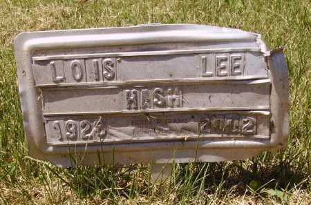HASH, LOIS LEE - Meigs County, Ohio   LOIS LEE HASH - Ohio Gravestone Photos