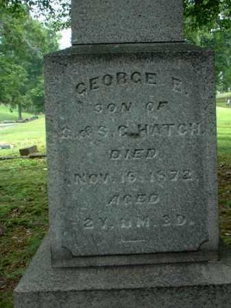 HATCH, GEORGE E. - Meigs County, Ohio | GEORGE E. HATCH - Ohio Gravestone Photos