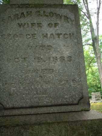 LOWRY HATCH, SARAH - Meigs County, Ohio | SARAH LOWRY HATCH - Ohio Gravestone Photos