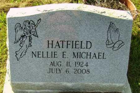 HATFIELD, NELLIE E. - Meigs County, Ohio | NELLIE E. HATFIELD - Ohio Gravestone Photos
