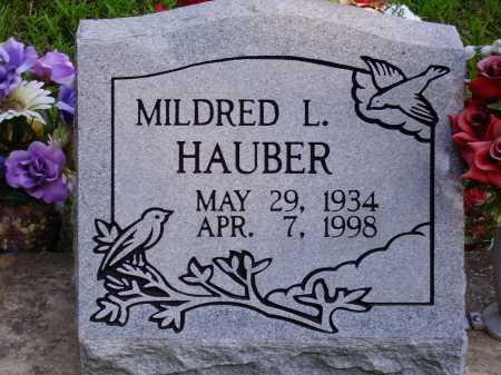 SINCLAIR HAUBER, MILDRED L. - Meigs County, Ohio | MILDRED L. SINCLAIR HAUBER - Ohio Gravestone Photos