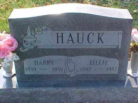 HAUCK, LILLIE - Meigs County, Ohio   LILLIE HAUCK - Ohio Gravestone Photos