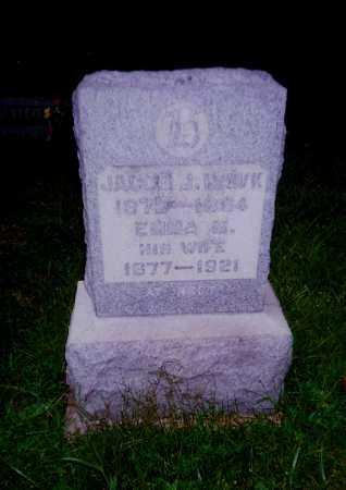 HAWK, JACOB J. - Meigs County, Ohio | JACOB J. HAWK - Ohio Gravestone Photos